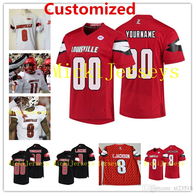 c34eb2d8cbe 2019 Mens Custom NCAA Louisville Cardinals College Football Jersey Jaire  Alexander Trevon Young DeVante Parker Louisville Cardinals Jerseys S 3XL  From ...