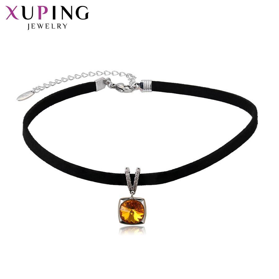 Großhandel 11,11 Angebote Xuping Modeschmuck Halskette Süße ...