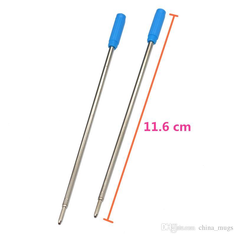 Kugelschreiber Refill Blau Schwarz Tinte Kugelschreiber Kugelschreiber Refills Für Hohe Qualität Schreiben Großhandel Büro Schulbedarf