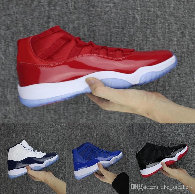 separation shoes b55d7 0a45d Acquista J03 6 Nike Air Jordan 11 Retro Space Jam Sneakers New Win Like 82  UNC 11 In Vera Fibra Di Carbonio Mens Casual Scarpe Uomo Top Quality OG  Midnight ...