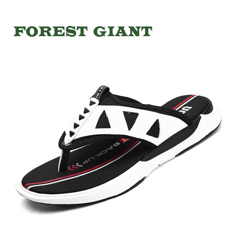 Gigante Hombres Zapatillas Hombre Bosque Exterior 39225 Flip Flop De Verano Para Playa Zapatos Sandalias Planas Casual SpqVGzMU