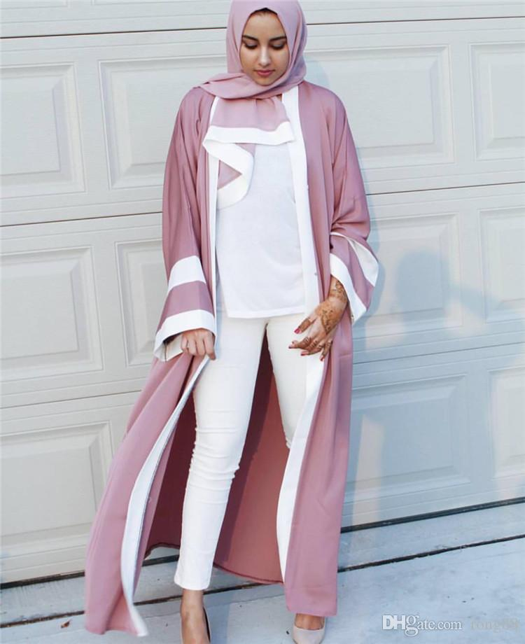 70686afe4d5f 2019 2018 Abaya Arab Clothing Women Musulman Dresse Arabic Dubai Robe  Cardigan Femme Adult Fashion Eid Long Dress Thobe From Rong88, $18.1 |  DHgate.Com