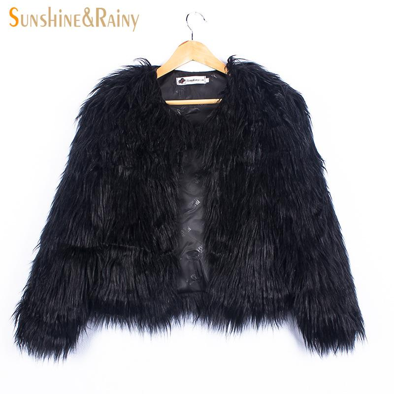 Ins Stylish Fur Jackets For Girls Autumn Kids Jackets And Coats Waterfall Baby Girl Faux Fur Coat Children Outerwear 2-10Y