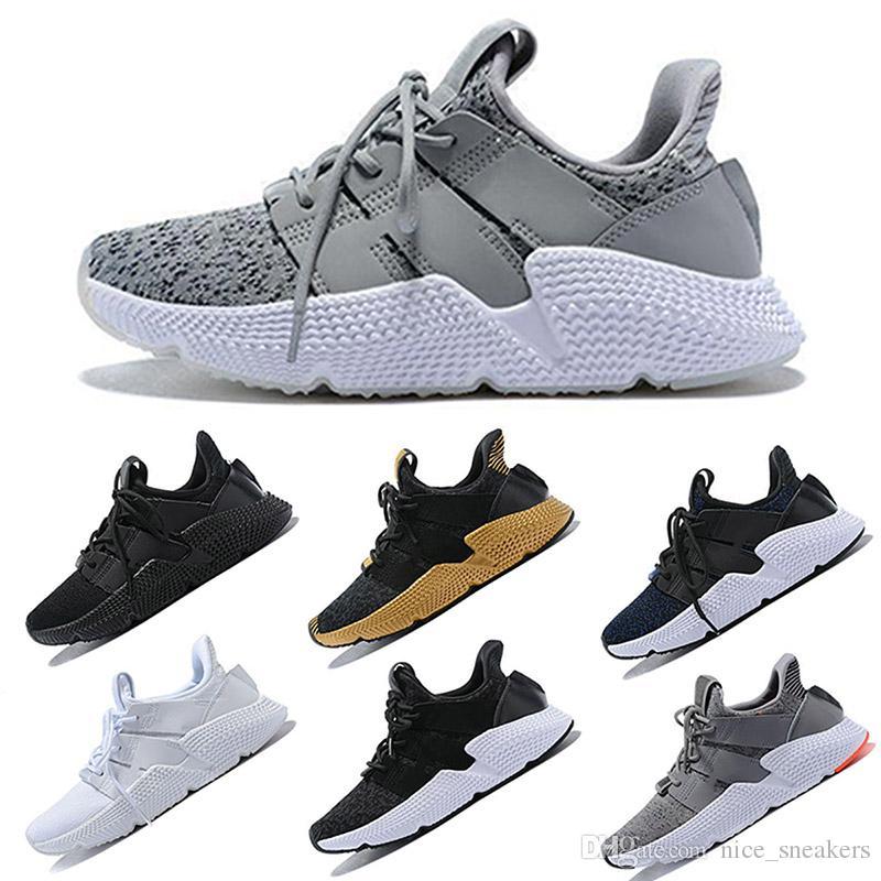 adidas Originals Prophere EQT Zapato casual 2018 Prophere Undftd Hombres y mujeres Zapatillas para correr, Blanco, Zapatillas ligeras transpirables