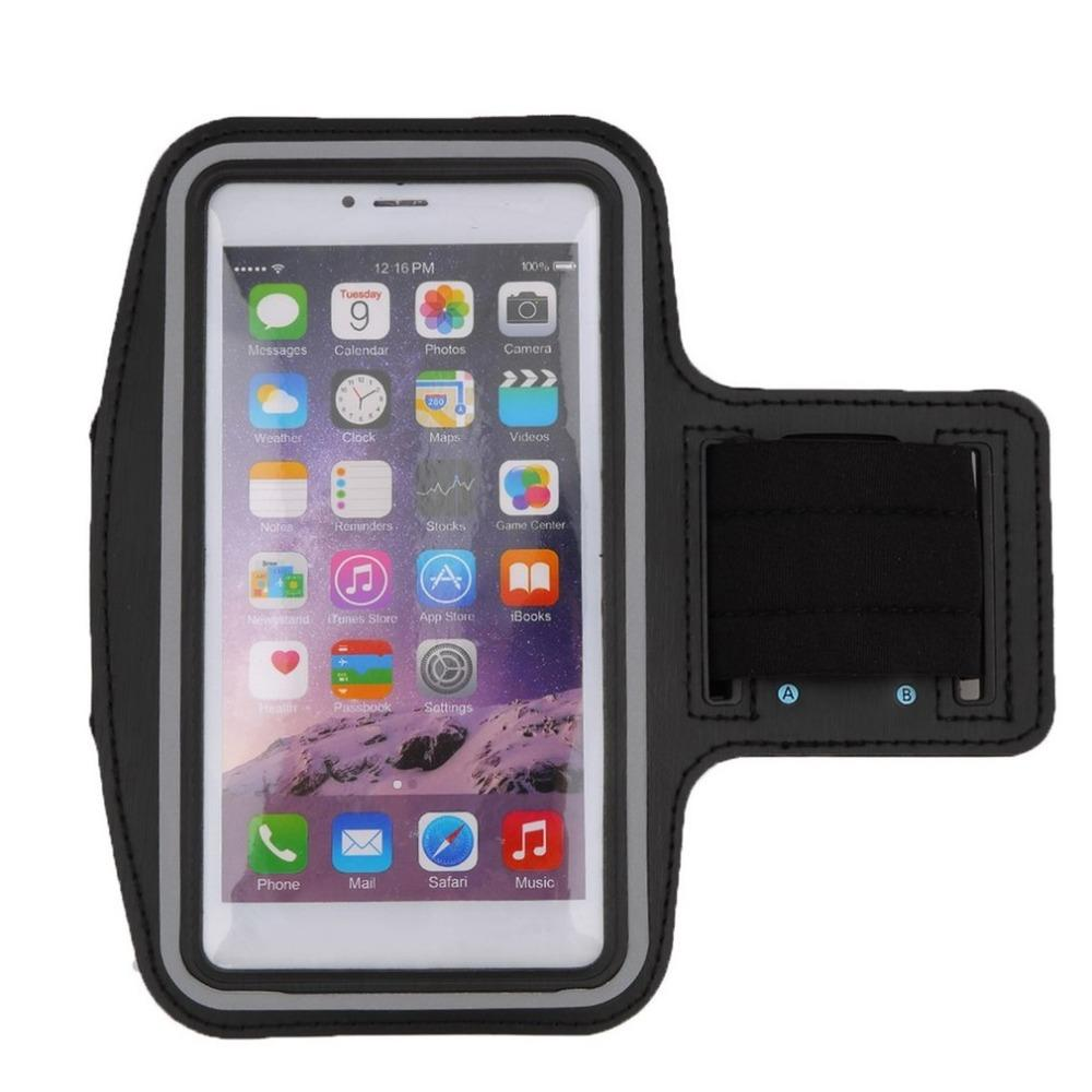 Waterproof Running Jogging Sports Neoprene Armband Case Cover Holder with Reflective Strip for 6 Plus
