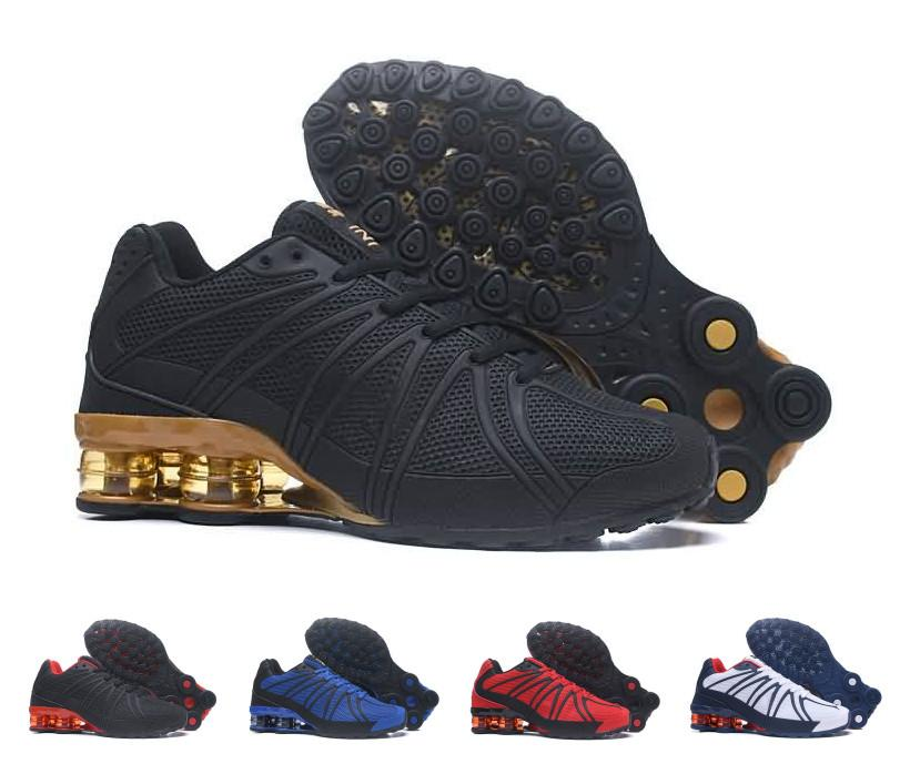 size 40 8385d 8bce8 Wholesale Designer Shox Oz Mens Running Shoes Man Shox Kpu Shoes Athletic  Hot Corss Hiking Walking 90 Breathable Sports Sneakers Shox Running Shoes  Mens ...