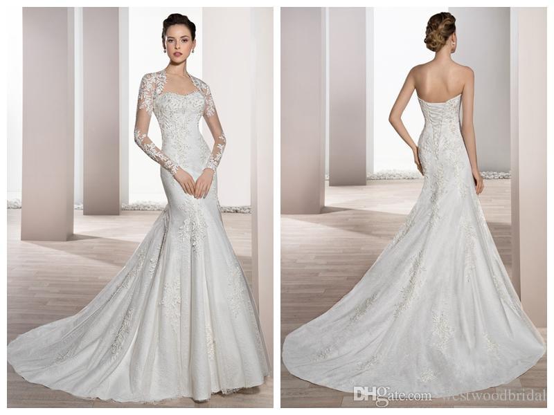 Wedding dresses robe de mariée demetrios ivory lace