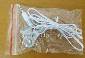 Оптовая нет микрофон 3.5 мм белый наушники одноразовые наушники Наушники для MP3 MP4 мобильный телефон Эст дешевле