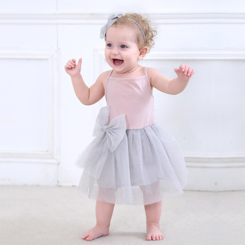 bfd137126b4 Compre Bebé Niña 1 Año Tutú De Cumpleaños Vestido De Algodón Niño Niñas  Verano Ropa Linda Rosa Vestido Infantil Sin Mangas Princesa Vestido A   40.54 Del ...