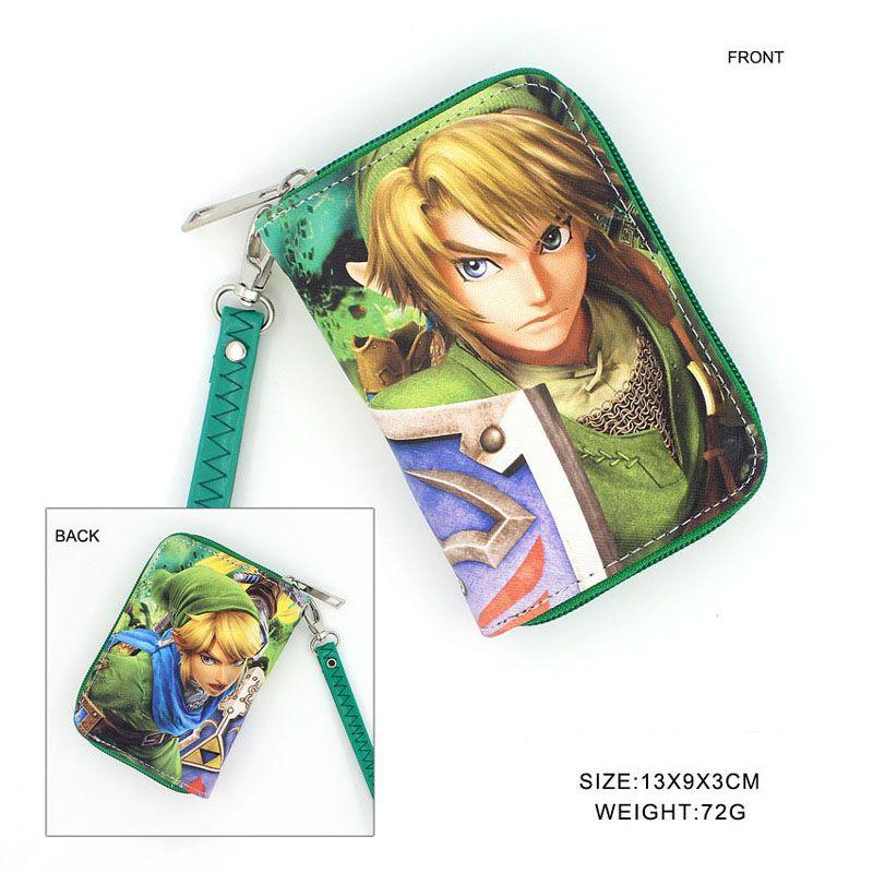 Cosplay Anime Game TouKen Ranbu Colorful Zipper Money Bag Imanotsurugi Card Holder Wallet Pocket Coin Purse