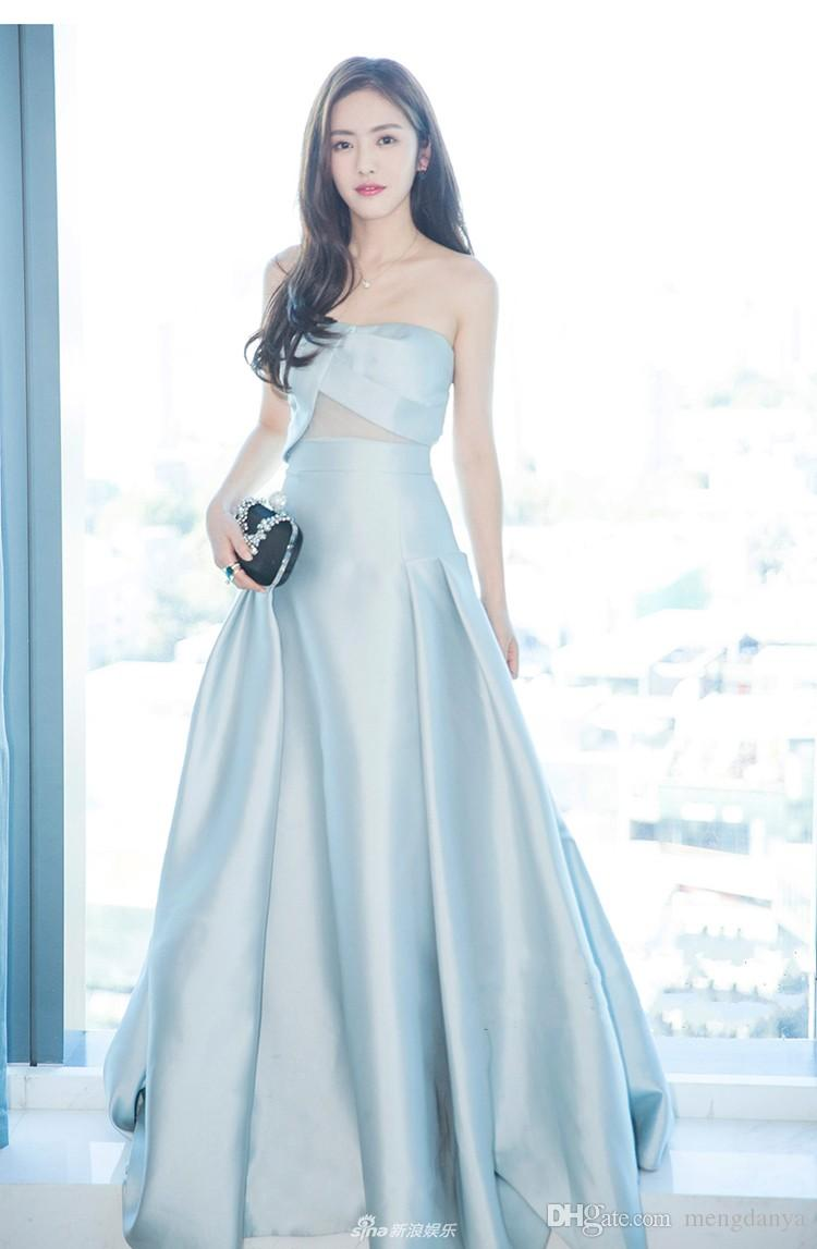 In 2017, The New Sleeveless Dress Will Be Worn With A Pale Blue ...