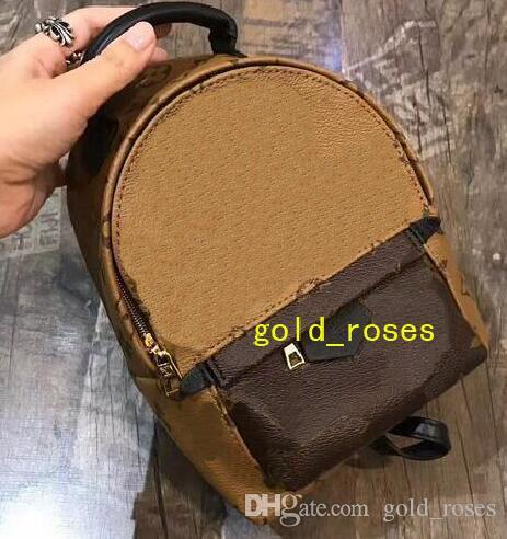 2019 BAG 100% Leather NEW PALM SPRINGS BACKPACK MINI Handbag SMALL ... 5e79dc4a47e6f