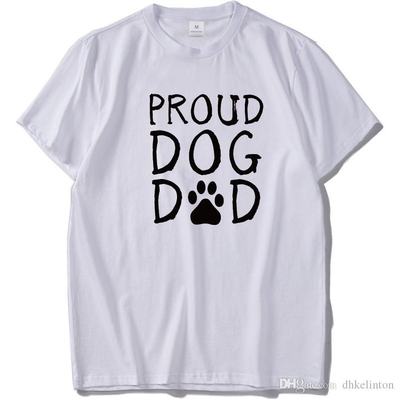 d0f1c449 Humor Men'S Funny T Shirt Dog Dad 100% Cotton T Shirt Short Sleeve High  Quality Tee Black Summer Hip Hop Joke Top T Shirt Shopping Awesome Tee  Shirts From ...