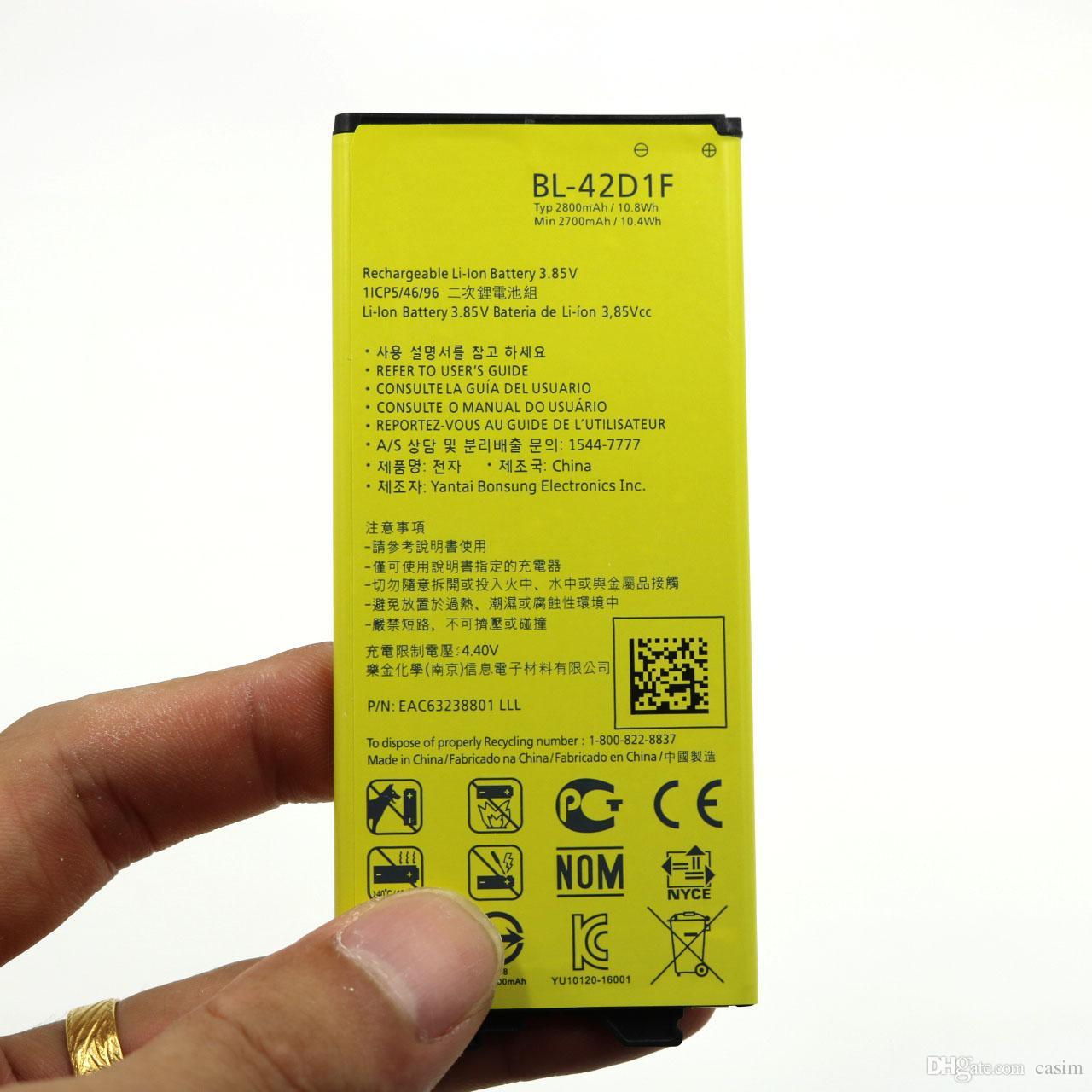 البطارية من أجل هاتف LG G5 القابلة لإعادة الشحن استبدال البطارية