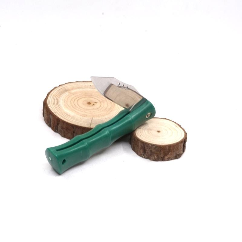 Bamboo Style Mini Folding Pocket Knife Outdoor Tool Portable Survival Knives Tactical Camping Fruit Paring Knife