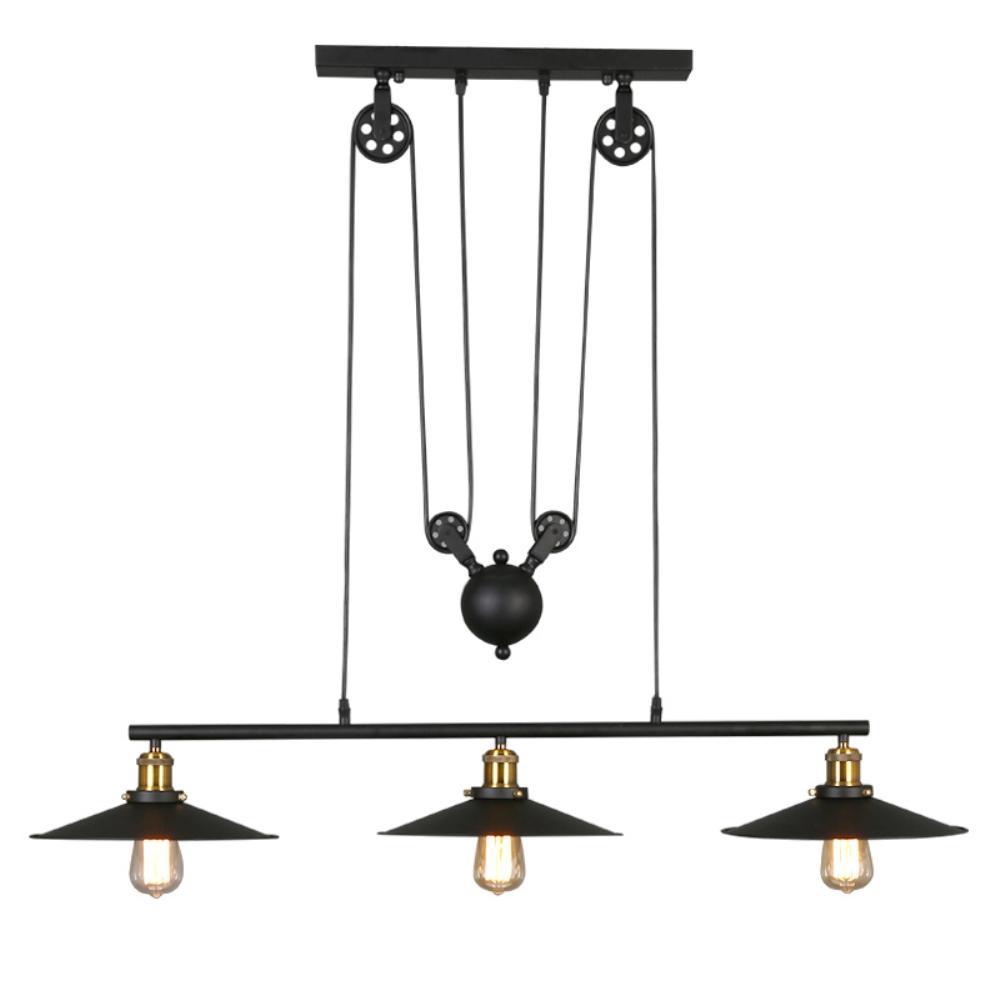 Luces Loft Polea Para Lampada Lámparas Lustre Lámpara Industrial Luminaria Barra Colgantes Americana Iluminaciones Led Vintage oCeWrxBd