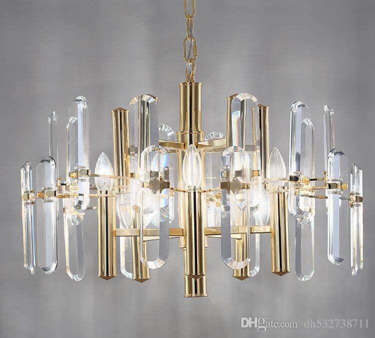 Großhandel Moderne Luxus Esszimmer Kristall Lampe Wohnzimmer Lampe ...