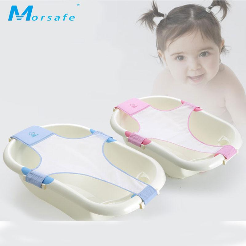 2018 Baby Cotton Cross Type Bathing Bed Baby Bath Rack Infant Cross ...