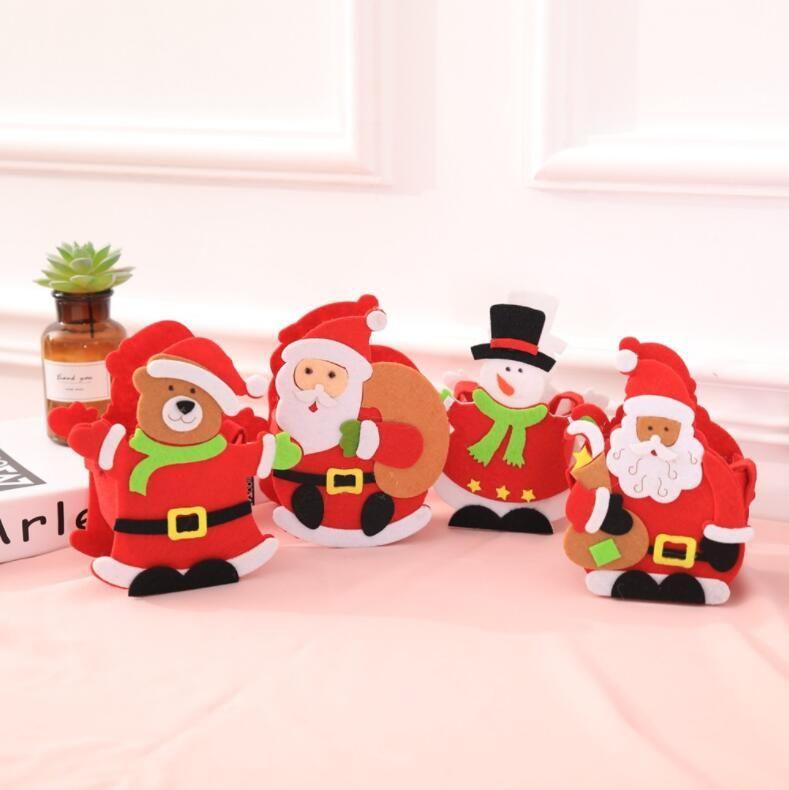 Cool Kids Christmas Gift Bag Hand Bag Children Shopping Candy Bag ...