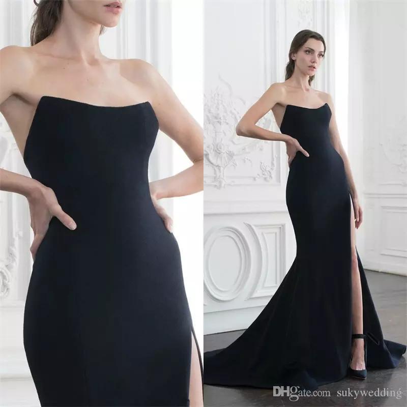 Vestidos de fiesta 2019 negro