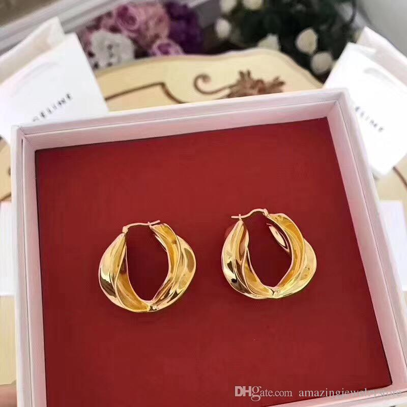 09dc025f50ca1 Find Similar Party Imitated 18k Gold Plated Luxury Hoops Earrings for Women  Wedding Bridal Holiday Fashion Earring Accessories PS6769