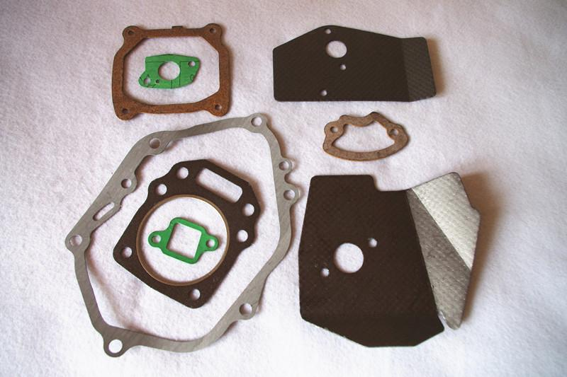 Full gasket sets fits Honda GXV160 1P68F HR*216 196 163CC 5 5HP engine  mower crank carburetor muffler cylinder insulator