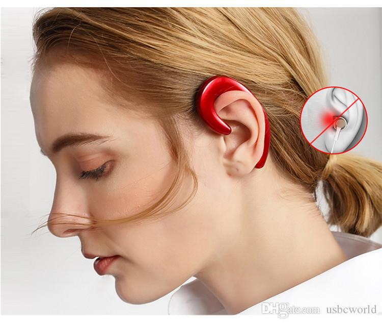 K8 drahtloser Bluetooth Kopfhörer mit Mikrofon Stereo Headsets kein Ohrstöpsel Ohrhörer 2018 neuester Ankunft Wiege Design