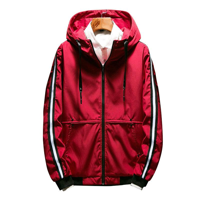 551364ee41 Clothing, Shoes & Accessories Men Zipper Jackets Casual Work Jacket Spring  Regular Thin Jacket Coat For Male