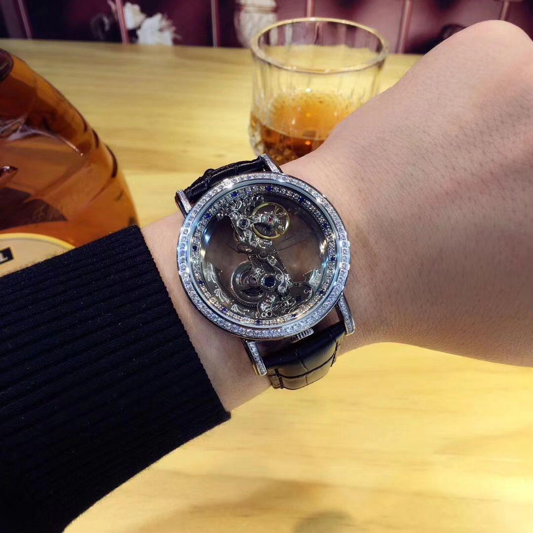 AAA Man Watch Women Fashion Mechanical Wristwatch Hollow Design luxury Man's watch famous brand More details contact us CR4