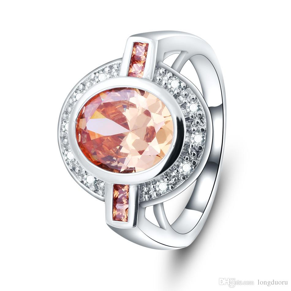 564798e34fa26 2018H0t sale in Europe and the United States ring high gear atmospheric  diamond ring jewelry birthday JZ03