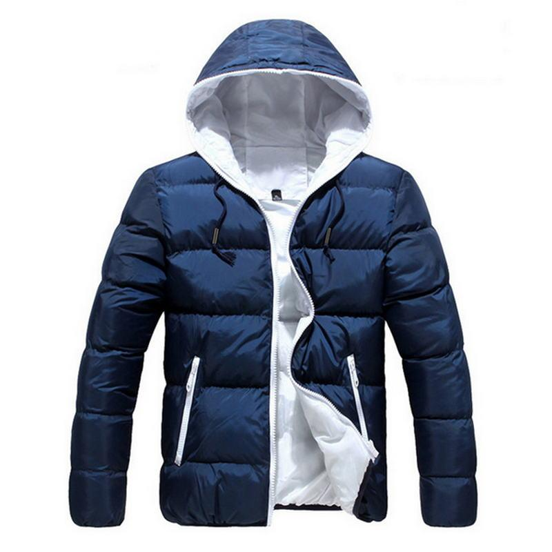 d507003f0be 2018 New Brand Winter Jacket for Men Hooded Coats Casual Mens Thick ...