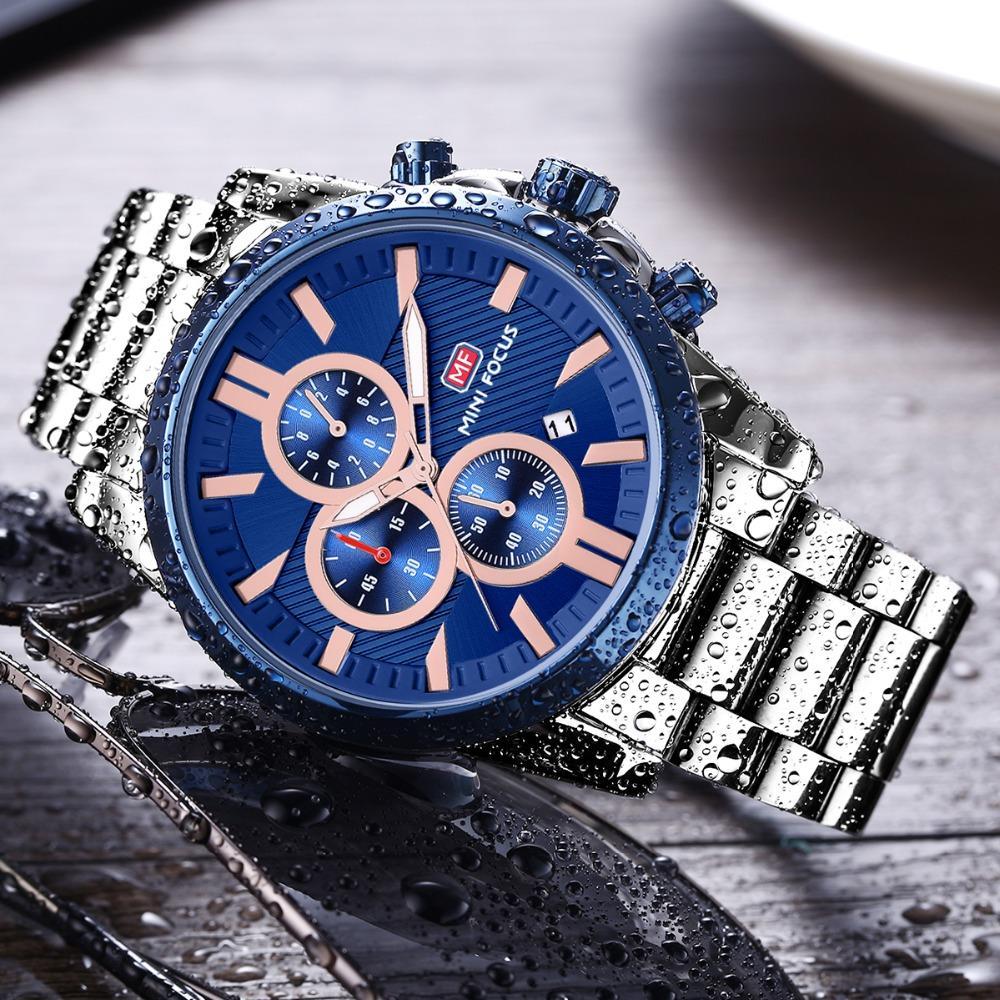 0e3bde6f60e Compre MINI FOCO Relógio De Pulso Top Marca De Luxo Famoso Relógio  Masculino Relógio De Quartzo Relógio De Pulso De Quartzo Relógio Relogio  Masculino ...
