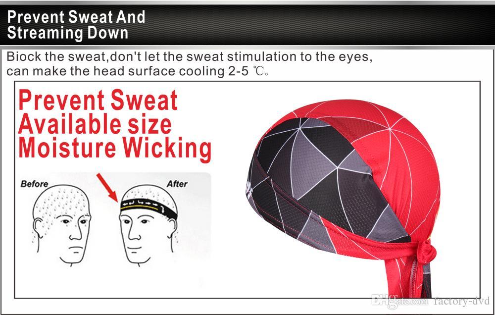 Mountain Bicycle Bike Bandana Summer Seamless Men Cycling Caps Hats Women Headband Men Headwear Sweatproof Riding Head Scarf