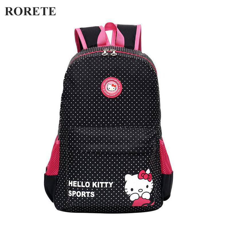 47b383f77f Hello Kitty Children School Bags For Girl Waterproof Kids Backpacks  Mochilas Primary Cartoon Backpack Kid Bag Lovely Baby Bag Backpack Book Cheap  Backpacks ...