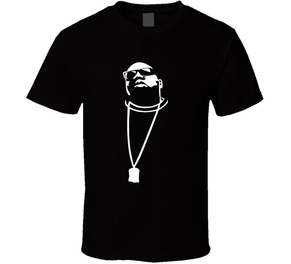 Compre Biggie Smalls Notorious Rap Hip Hop Camisetas Negras Para Hombres A   11.01 Del Mycarperformance  03e232843b4
