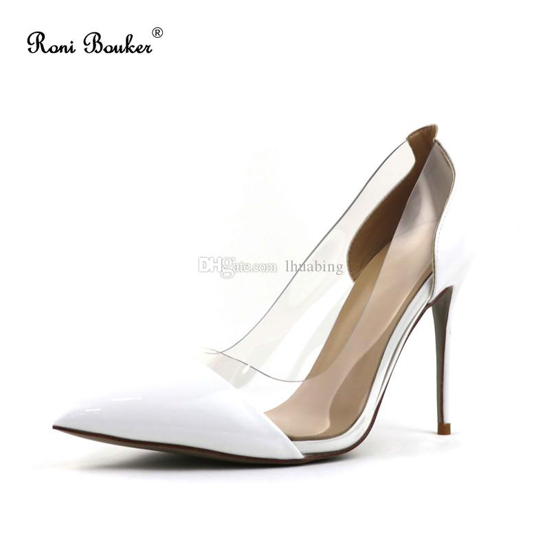 84549ddb0c6f Popular Women Pointed Toes High Heels Lady Summer Patent Leather ...