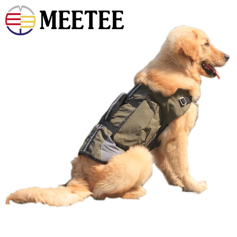 uk availability b8714 420f9 Meetee New Arrivel Pet Clothes Manufacturers Wholesale Medium Golden  Retriever Dog Green Mountaineering Red Jackets.DC-412