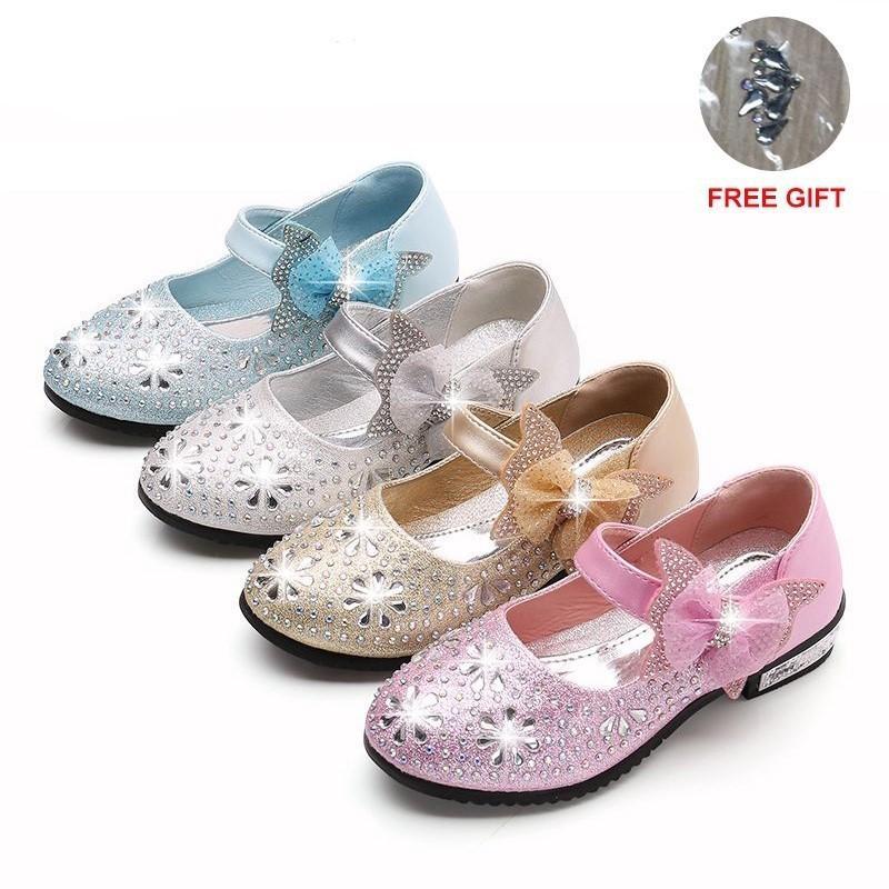 nouveau authentique acheter pas cher courir chaussures 26 Fleur Filles Pour Parti De En Fille Enfants Chaussures ...