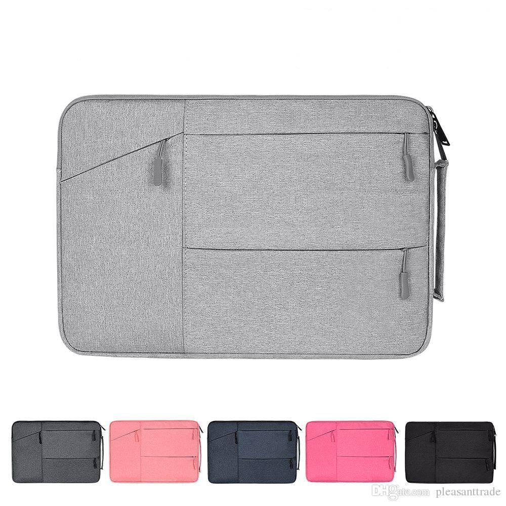 97a926eb26 Acheter Portable Polyester Sacoche Ordinateur Portable Sacoche Pour Macbook  Air Pro 11 12 13 15 Dell Asus HP Pochette Pochette Carry Carry Pouch Carry  ...