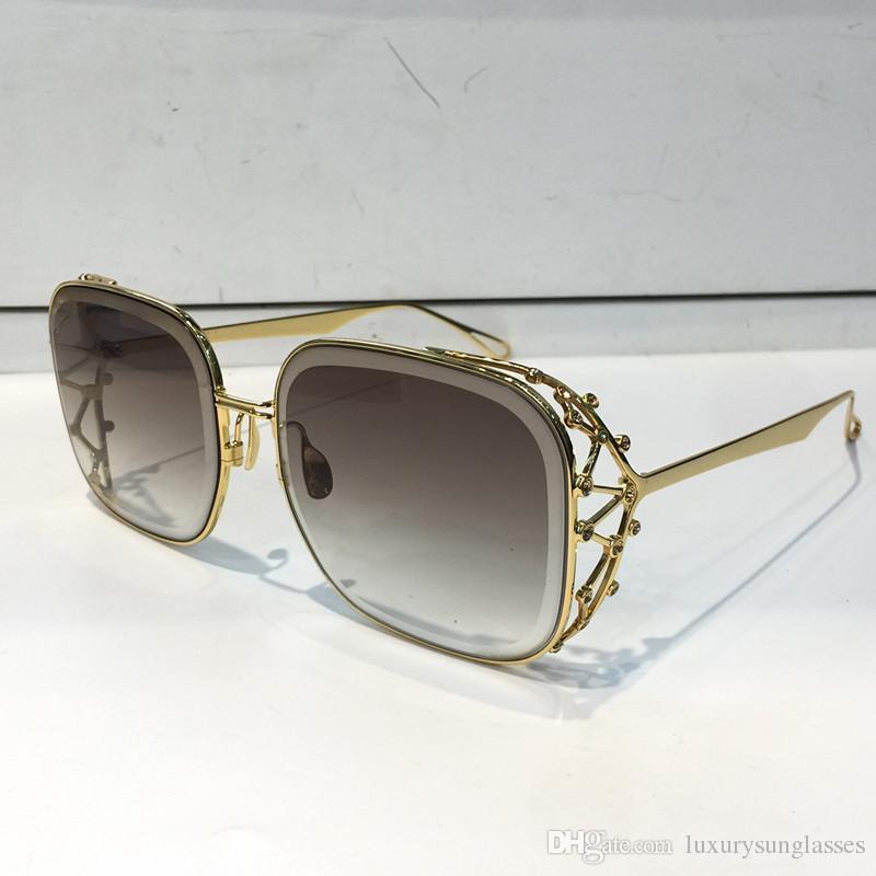 13d1d17b01 MJ 59 Sunglasses Women Brand Designer Popular Sunglasses Fashion Diamond  Stone UV Protection Lens Frameless Color Plated Frame Come With Box Bifocal  ...