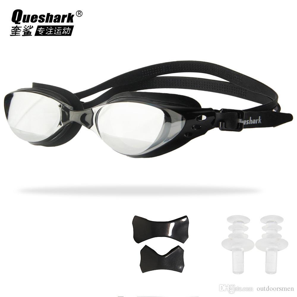 6dfa1984d4 1psc Men Women Swim Glasses Anti Fog UV Protection Swim Eyewear  Professional Electroplate Waterproof Swimming Goggles