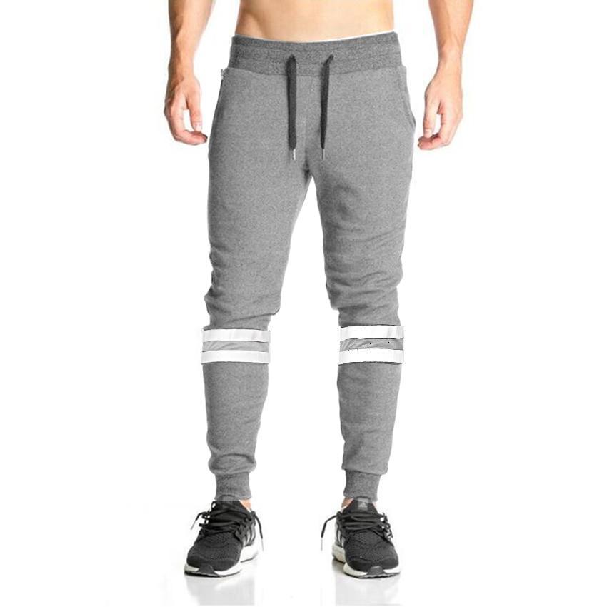 5339663008dc99 Großhandel 2018 Cotton Full Sportswear Fracht Jogginghose Hosen Sport  Jogger Hose Lässige Elastische Mens Männliche Fitness Workout Track Skinny  D18101103 ...