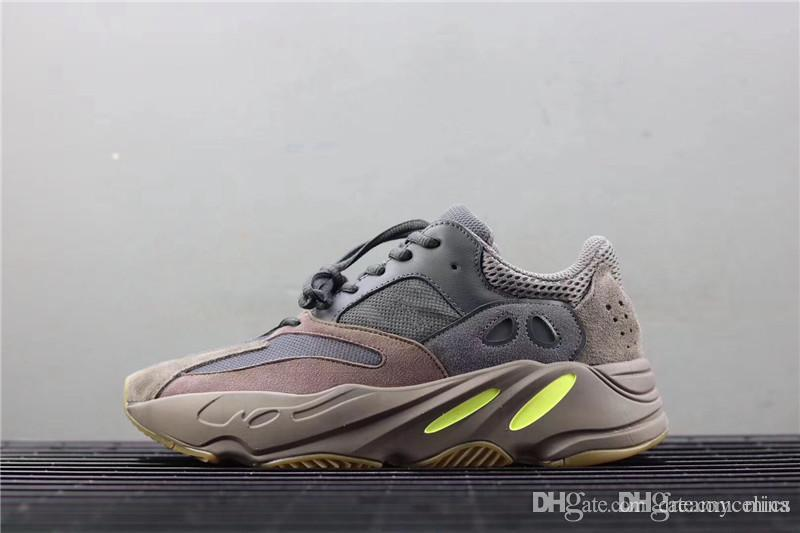 1f355f538c4 2019 2018 Release 700 Mauve EE9614 WAVE RUNNER Kanye West Running Shoes For Men  Women Authentic Quality Sports Sneakers With Original Box From Mics