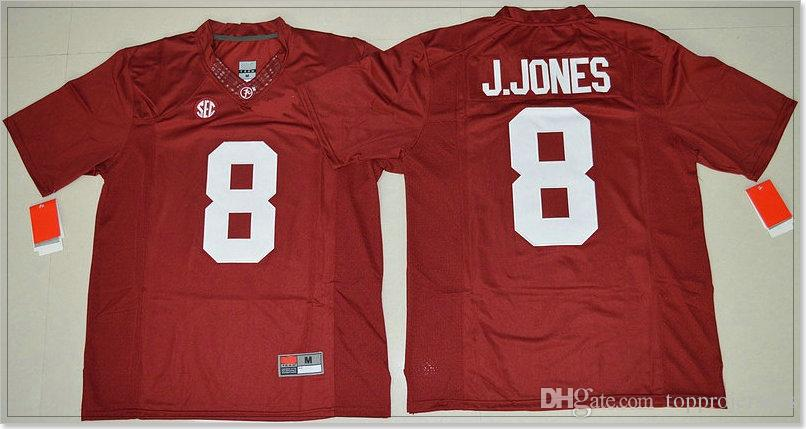 Alabama Crimson Tide #8 Julio Jones 9 Amari Cooper Mens Vintage Stitched Embroidery Shirts College American Football Sports Pro Team Jerseys