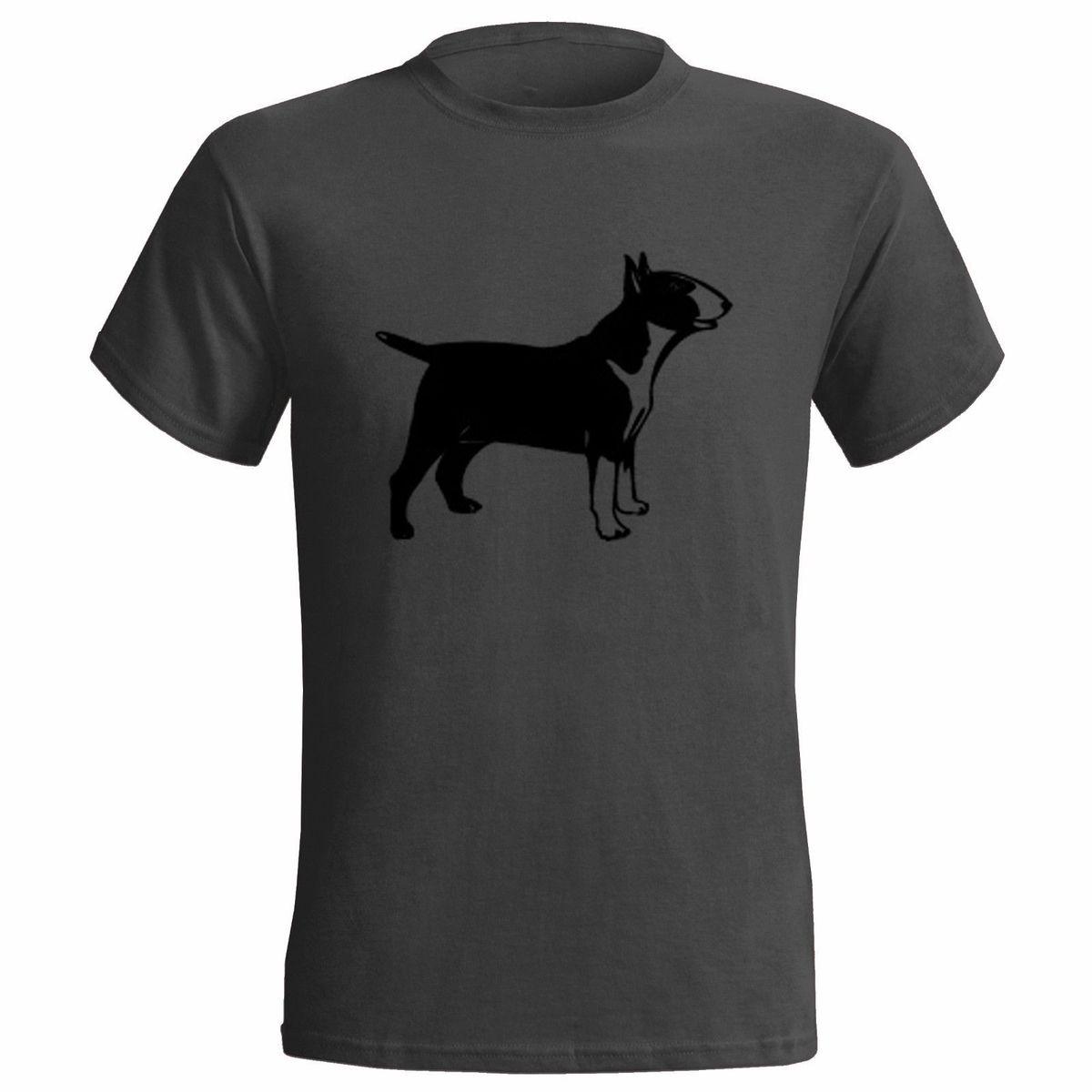ENGLISH BULL TERRIER VECTOR ART MENS T SHIRT DOG DOGS PRESENT GIFT CANINE PET
