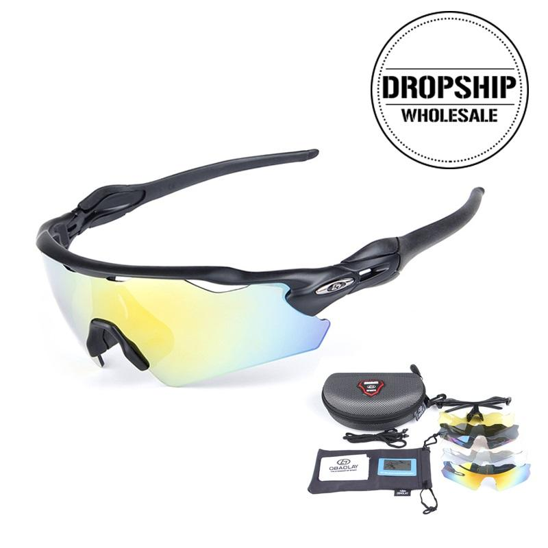 4a108567ae0 2019 UV 400 Bicycle Sunglasses Men MTB Cycling Polarized Sport Glasses  Outdoor Bike Goggles For Climbing Riding Fishing Driving 4Lens From  Qingteawater