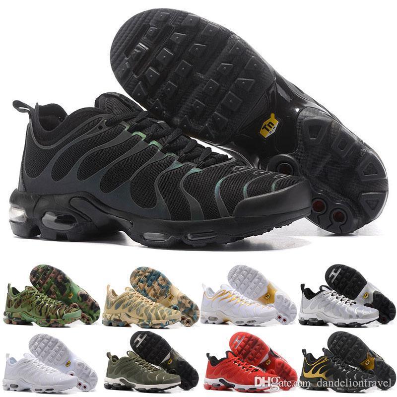 best service e2225 81f43 Acheter Top Pas Cher TN Chaussures De Course Pour Hommes Plus TN Ultra  Sports TN Requin Sneakers Chaussures De Course 40 45 De  83.25 Du  Dandeliontravel ...