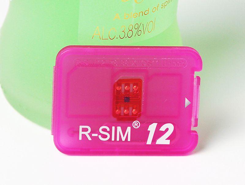 Original Rsim R SIM RSIM12 12 Unlocking Card for All iPhone IOS 11.2 AUTO-Unlocking 4G LTE US JP 4G CDMA GSM WCDMA SB AU SPRINT unlocked iOS