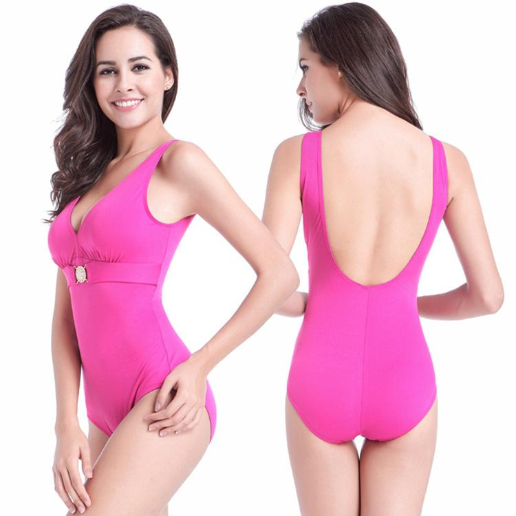 2019 2018 Pregnant Women Large Size One Piece Swimsuit Conservative  Covering Belly Hot Spring Swimsuit Backless One Piece Bikini Brakinis Mujer  From Insino 444af7f21