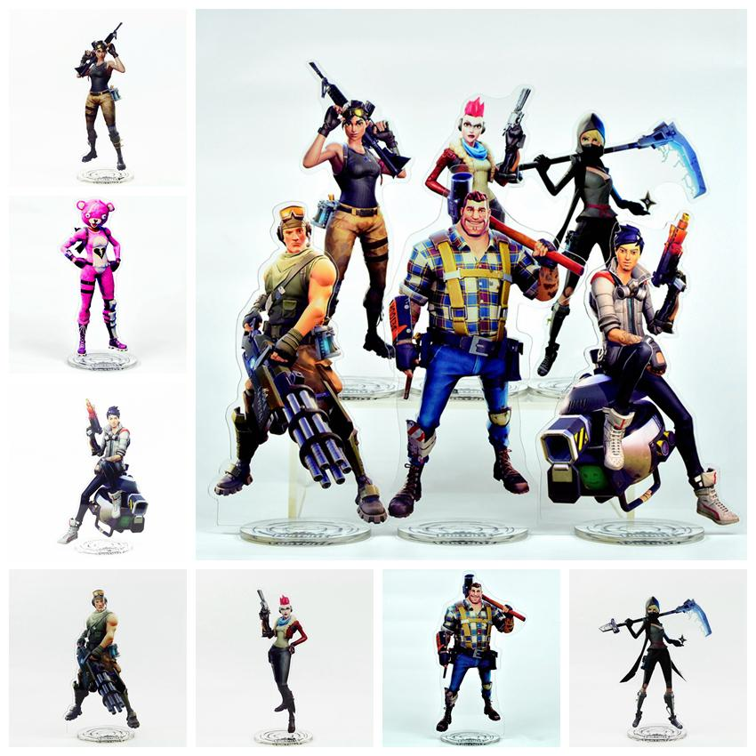 21cm Fortnite Action Figure Acrylic Toys Collection